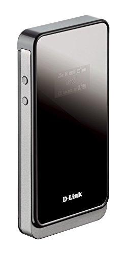 D-Link DWR-730 Mobiler 3G Hotspot (kompatibel mit allen Mobilgeräten, HSPA, bis zu 21 Mbit/s)