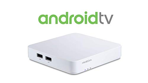 Android TV Box HIMEDIA S500 4K (Ultra-HD) HDR10 | Mini PC (Quadcore-CPU, HDMI 2.0b, Dualband WLAN-ac, Bluetooth 4.2)