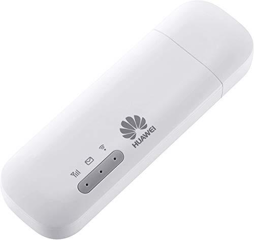 HUAWEI E8372h-320, mobiler WLAN-Adapter LTE/4G, 150 Mbit/s, entsperrt, Weiß, USB - funktioniert auch mit SIM-Karten im Ausland Modell 2020. Verbinden Sie jetzt 16 kabellose Geräte.